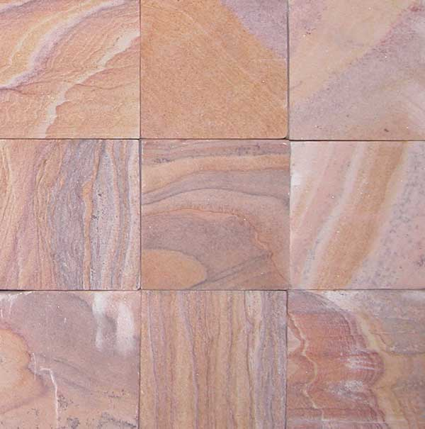 Rainbow Sandstone Pavers Natural Stone